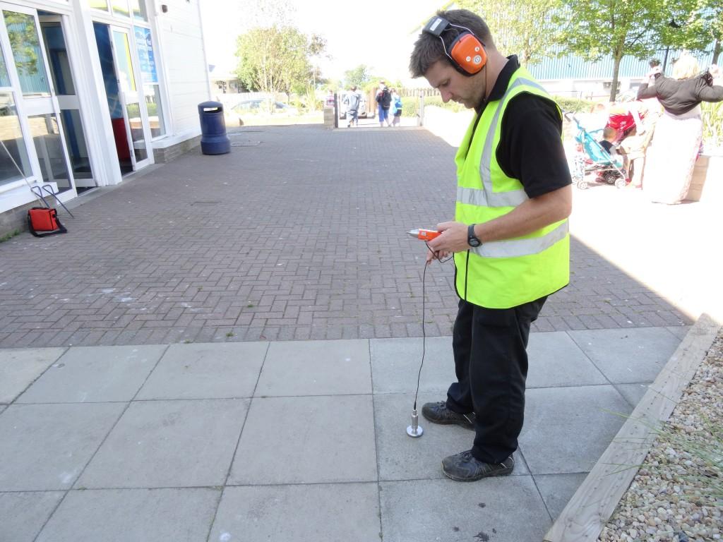 Water leak detection using aqua phones