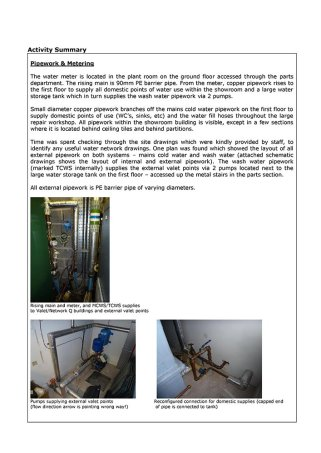 Water Leak Detection Report - Click here