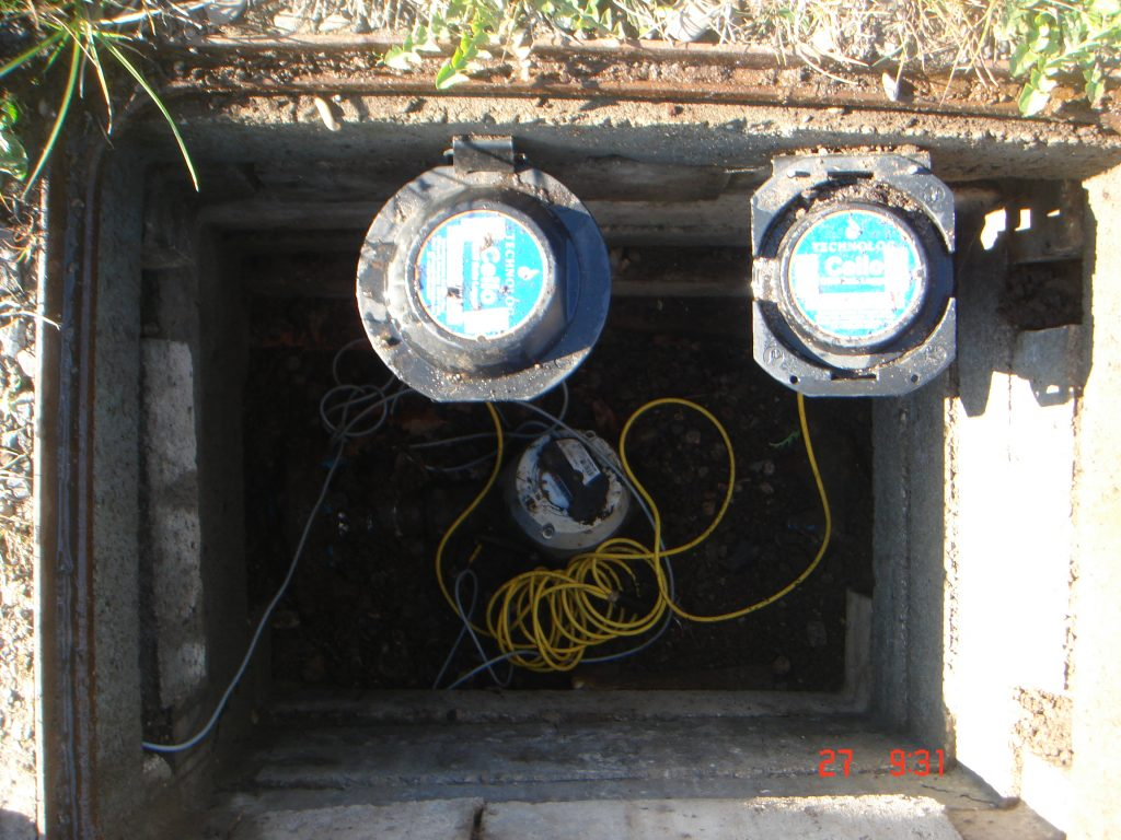 Water flow data logger - Focused water management strategy