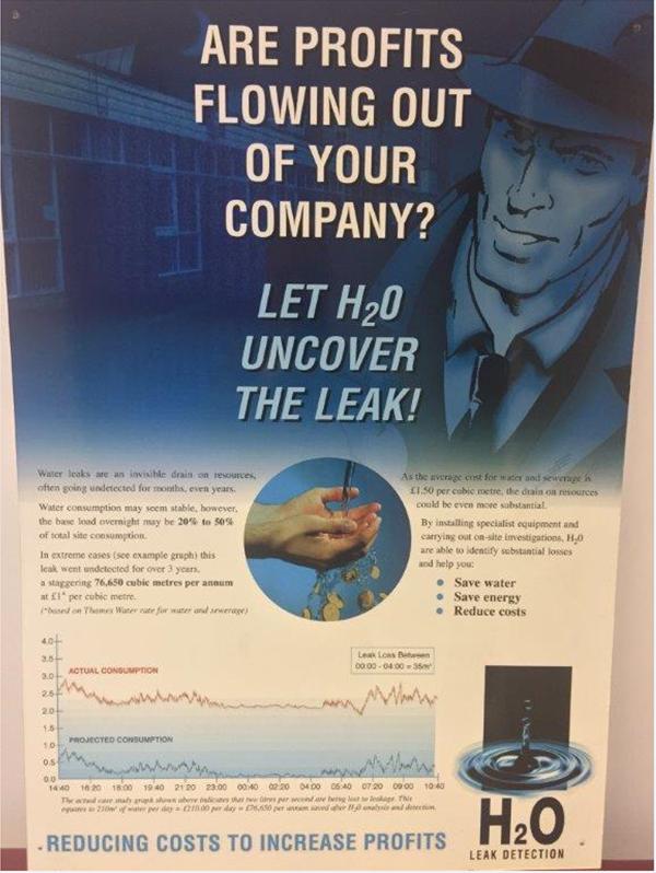 Water leak detection - H20 Building Services