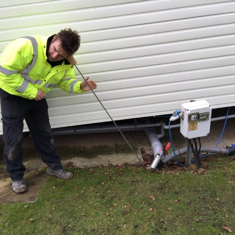 Water leak detection - listening stick - H2O Building Services