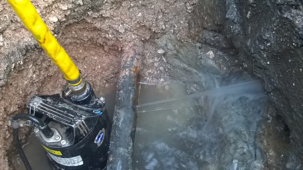 Water leak detection - H2O Building Services