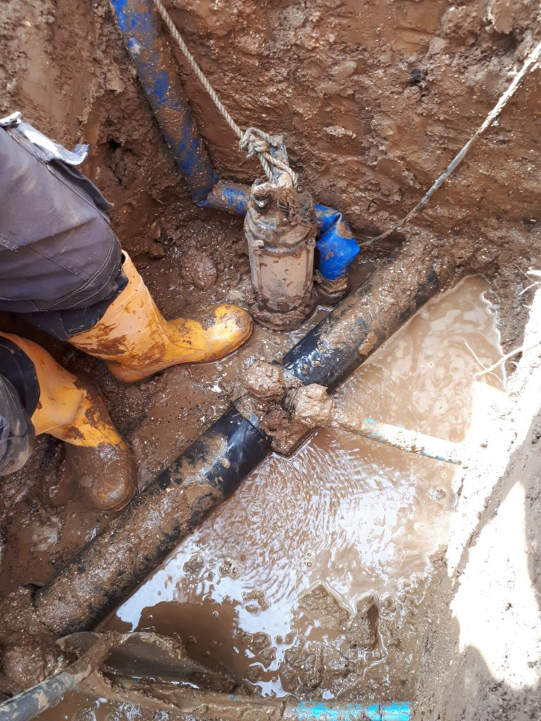 Water leak repairs - H2O Building Services