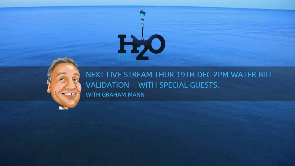 H2O Live on LinkedIn - Water bill validation