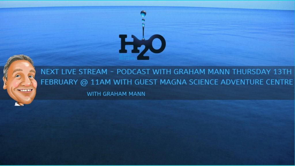 podcastwithGrahamMann - Live on LinkedIn - H2O Building Services