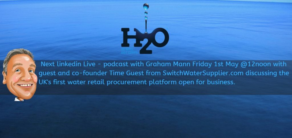 Podcast with Graham Mann - SwitchWaterSupplier.com