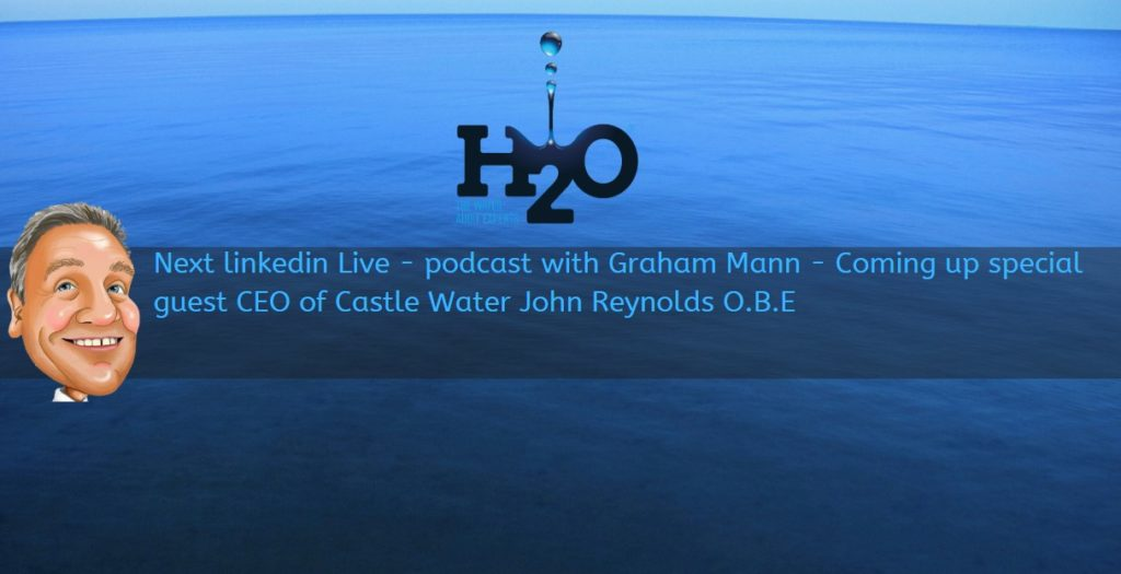 Podcast with Graham Mann - H2O Building Services live on LinkedIn