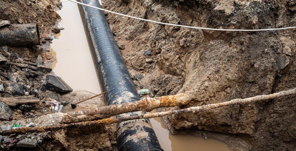 Water leak detection - water leak repair - underground water leak - H2O Building Services