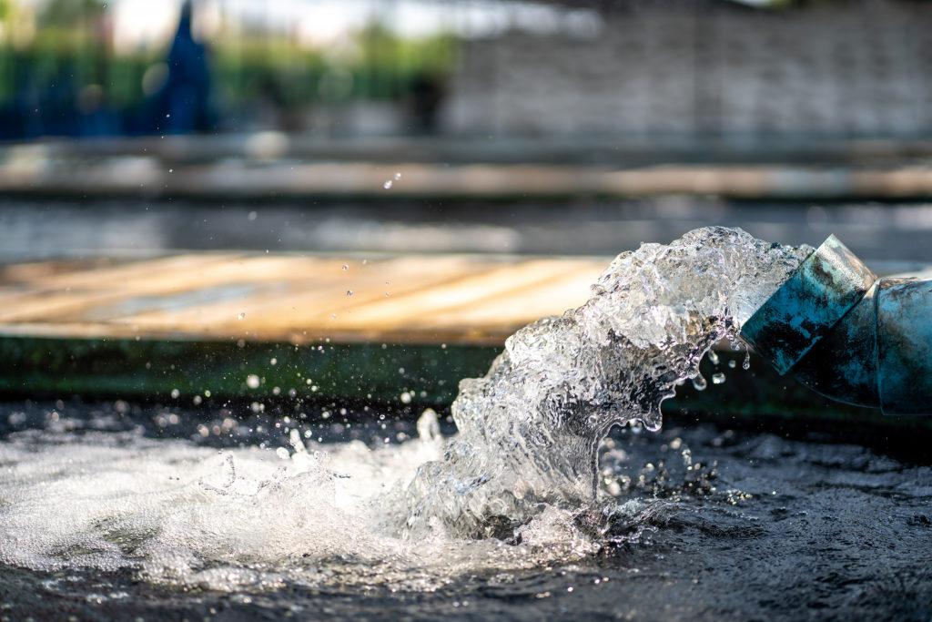 Water leak repairs - H2O Building Services