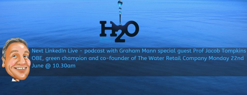 Podcast with Graham Mann - featuring Jacob Tomkins O.B.E
