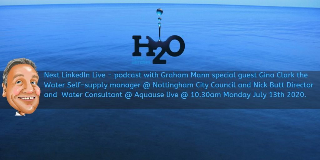Podcast with Graham Mann - Water self supply