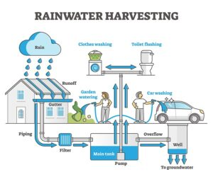 Rainwater harvesting - H2O Building Services